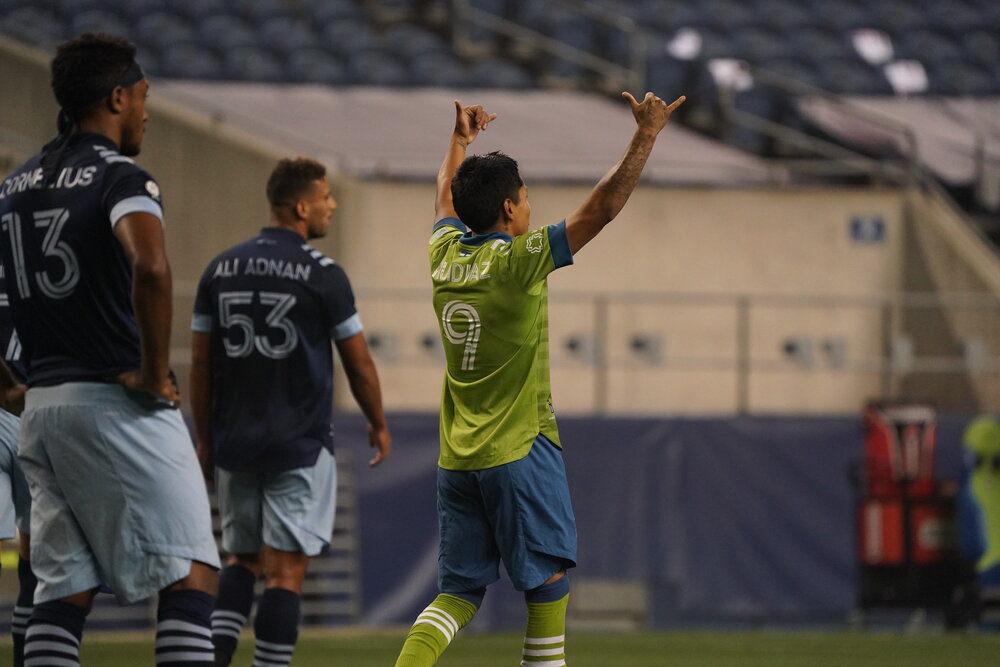Photo Credit: Mike Fiechtner of Seattle Sounders Communication