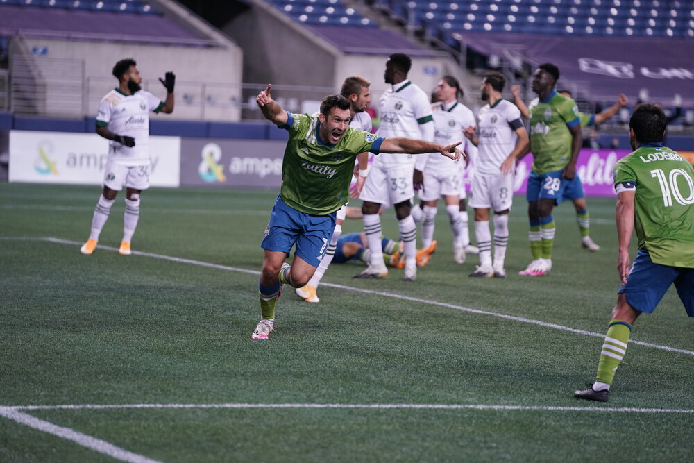 Photo Credit: Mike Fiechtner / Sounders Communications