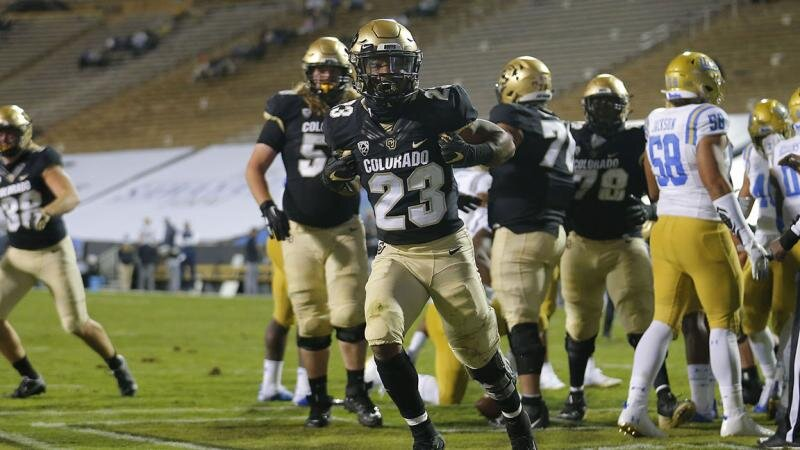 Colorado RB Jarek Broussard ran for 187 yards and three scores in his debut last week and was named Pac-12 Offensive Player of the Week.
