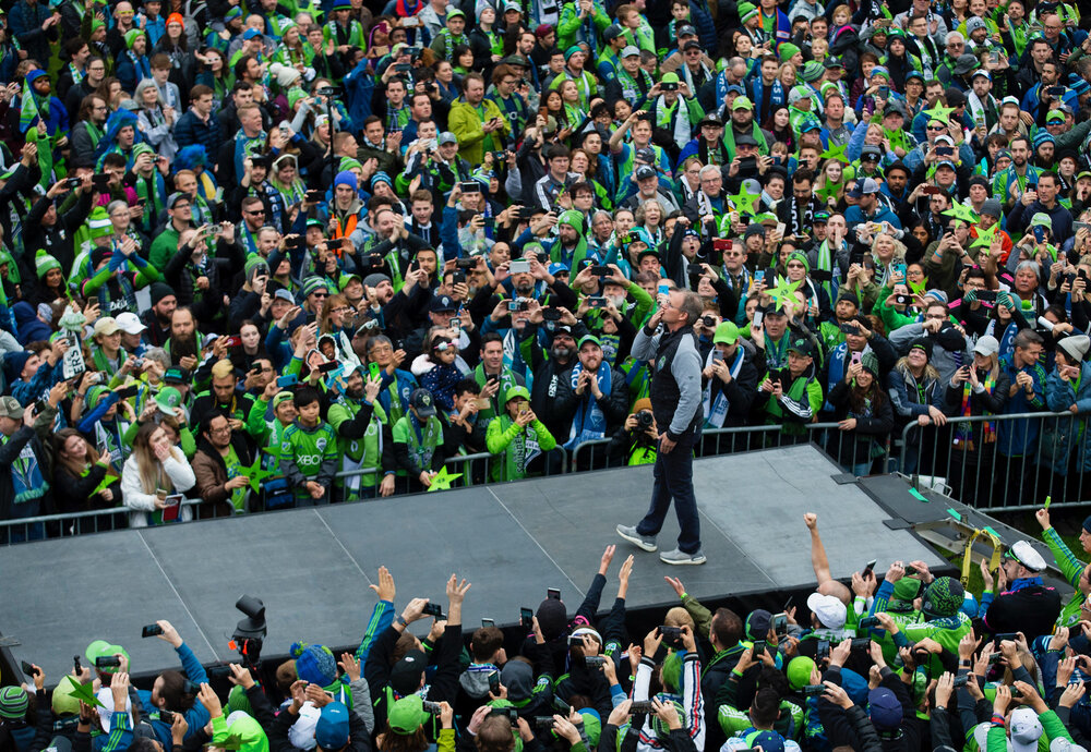 Lindsey Wasson / Sounders FC Communications